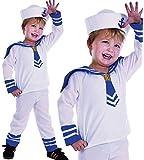 Sailor Boy - Toddler - Childrens Fancy Dress Costume - Toddler - 90cm to 104cm