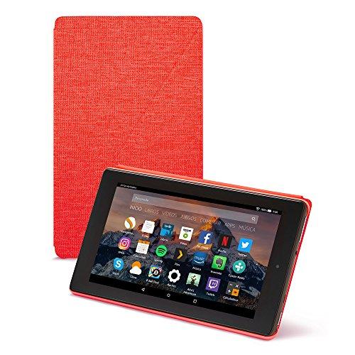Amazon - Funda para Fire 7 (tablet de 7 pulgadas, 7ª generación, modelo de 2017), Rojo