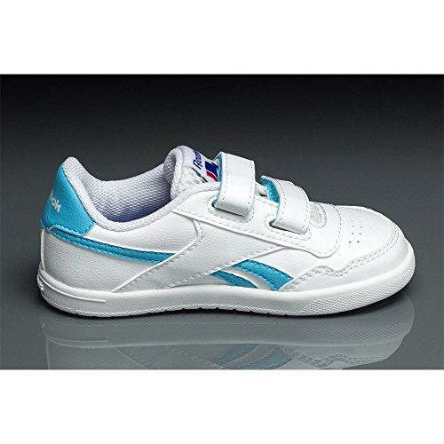 Reebok - Royal Effect Alt - M42291 - Color: Azul-Blanco - Size: 22.5