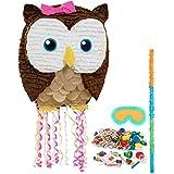 BirthdayExpress - Owl Pink Pinata Kit - Multi-Colored