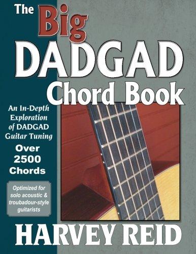 Chord Guitar Big Book - The Big DADGAD Chord Book: An In-Depth Exploration of DADGAD Guitar Tuning