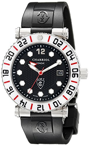 charriol-rotonde-gmt-mens-black-dial-white-bezel-2nd-time-zone-watch-rt42gmtw142g01