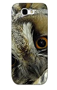 For Galaxy Note 2 Fashion Design Animal Owl Case-cbdVUZ-1307-nqiMC / Cover Specially Made For Thanksgiving Day's Gift