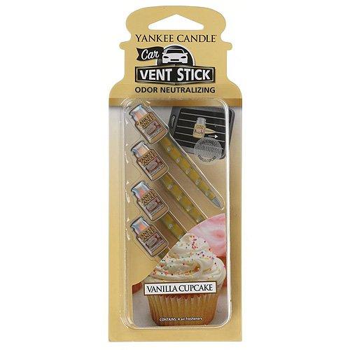 18 opinioni per yankee candle Car Vent Stick Profumatore per Auto, Vanilla Cupcake, Confezione