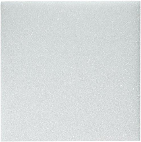 Styrofoam Block Arranger - FloraCraft Styrofoam Block 0.4 Inch x 11.8 Inch x 11.8 Inch White