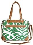 Kailo Chic Camera and Laptop Bag (Emerald Ikat)