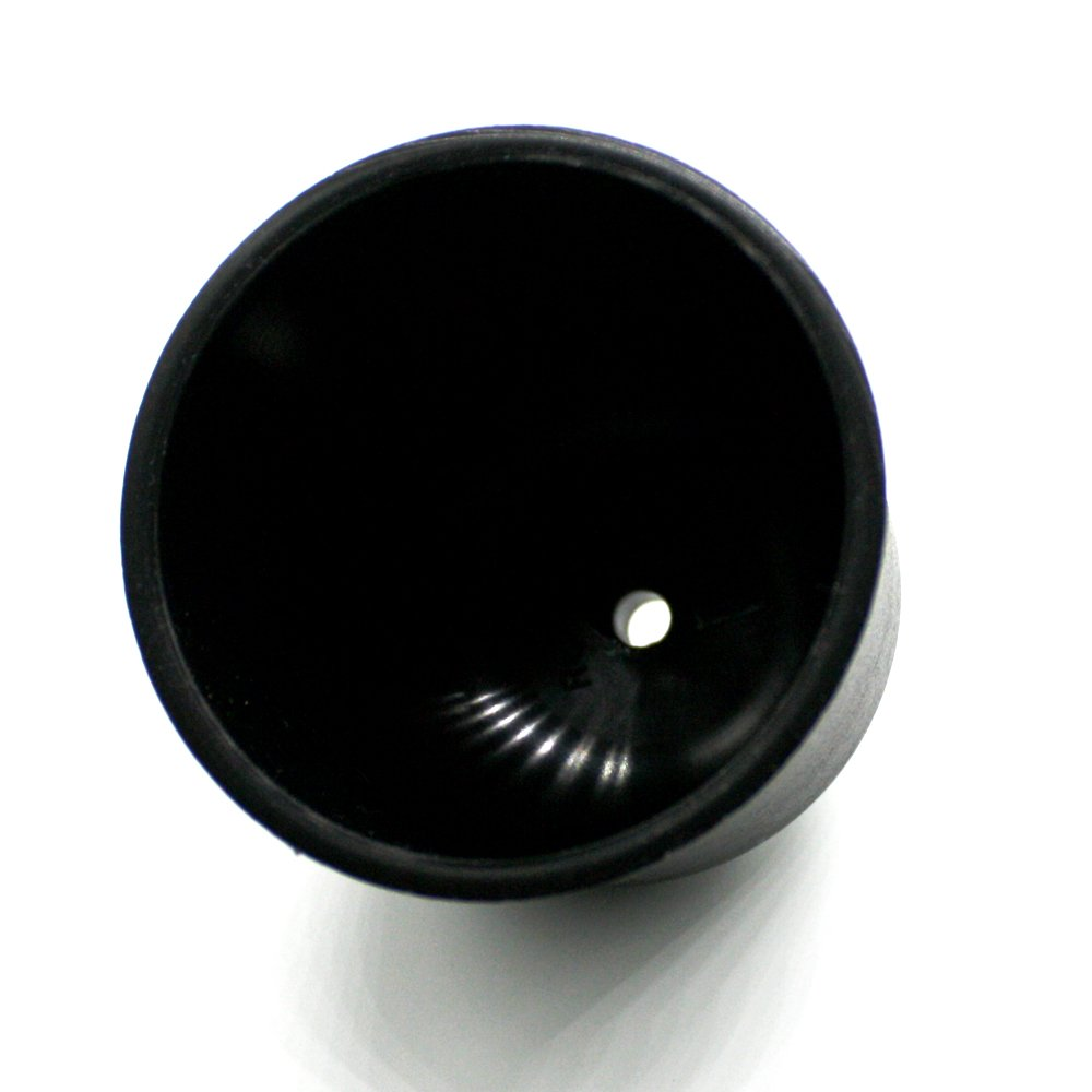 Canopy Black Plastic /ø 76/mm with Fixing Screws for Lead Lamp Cable Pendant Lamp Light Lamp Ceiling Pot Pot