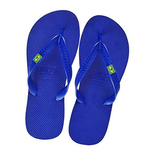 Dupe Flip-Flops Strand Pool Herren Blau