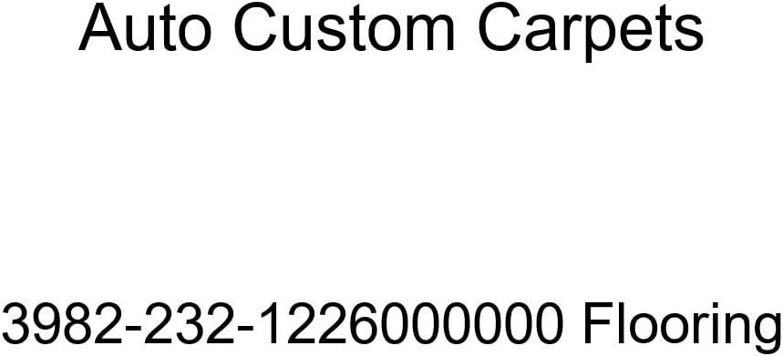 Auto Custom Carpets 3982-232-1226000000 Flooring