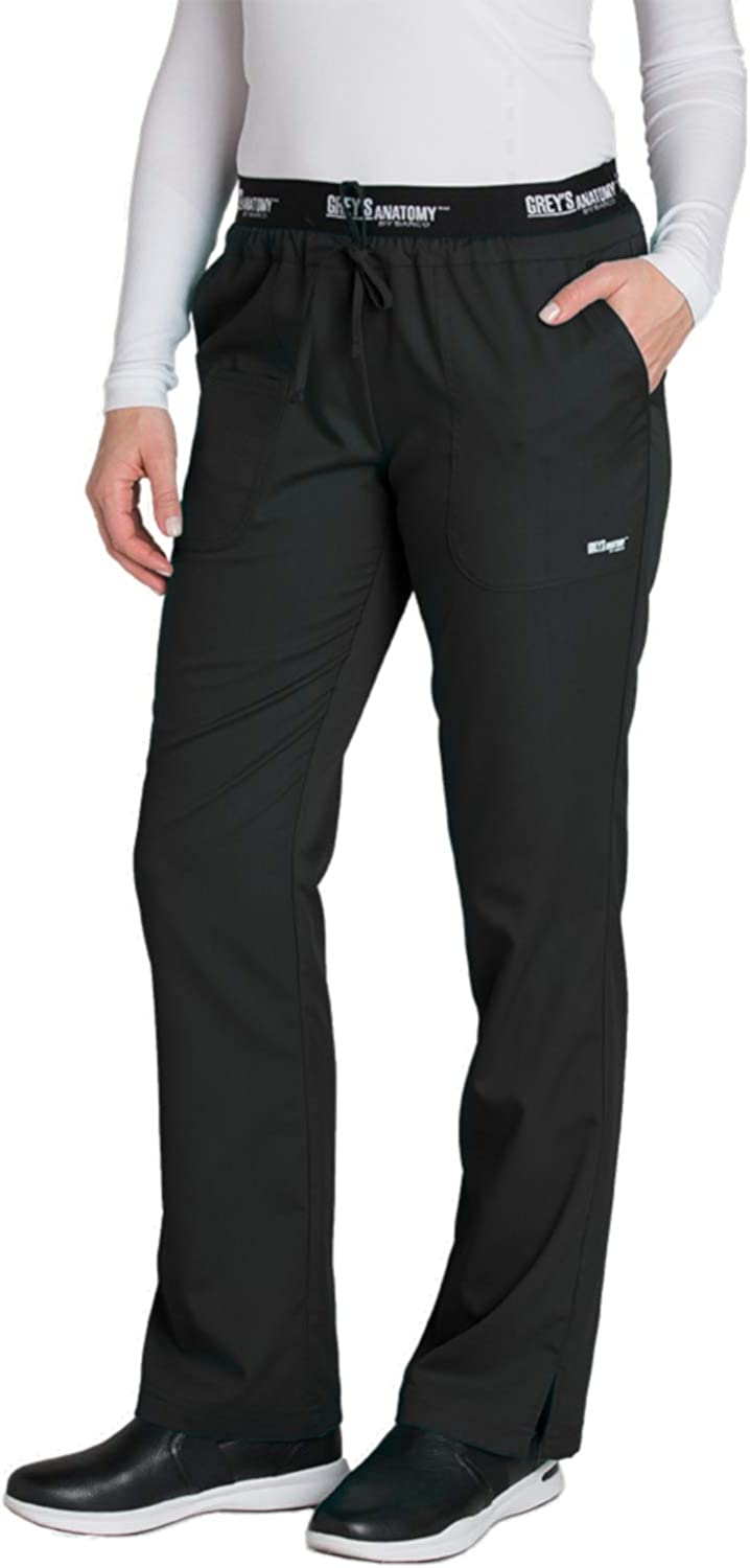 Grey's Anatomy Active 3 Pocket Pant for Women – Modern Fit Medical Scrub Pant: Clothing