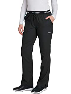 ffd06c58c9c Grey's Anatomy 3-Pocket Draw-Cord Pant for Women - Modern Fit Medical Scrub