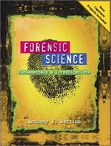 Forensic Science: Fundamentals and Investigations 2012 Update ...