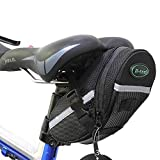Kapoo Waterproof Bike Saddle Bag, Black