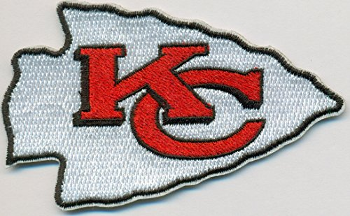 cheap for discount 4506b 17618 Kansas City Chiefs Logo Football NFL Embroidered Iron On Patches Hat Jersey