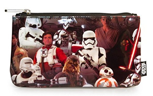 Loungefly Star Wars: The Force Awakens Multi Character Pencil Case
