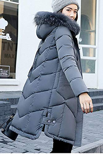 Longues breal Haute Outdoor avec Tous Doudoune Les Elgante Manches Manteau De Fourrure Doudoune Capuchon Chemine Stepp Loisir Hiver Taille Longue Jours Grande Chaud Deepgrey Parka Femme Qualit Fashion 6017wqgw