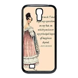 Austen feliz SY86LX3 funda Samsung Galaxy S4 teléfono celular caso funda W9DV7C8YR