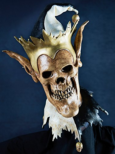 The Nightmare Collection - Grim Jester Mask - One-Size