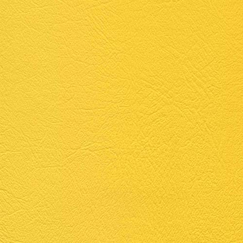 Vinyl Upholstery Fabric Bright Yellow 54