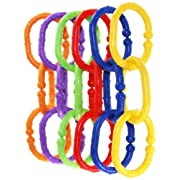 Jeep 18 Piece Linkables Baby Teething Toys