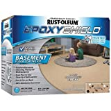 Rust-Oleum 203008 Basement Floor Kit, Tan - 2 Pack