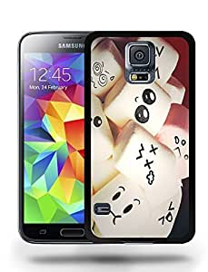 Cute Colorful Marshmallow Face Phone Case Cover Designs for Samsung Galaxy S5