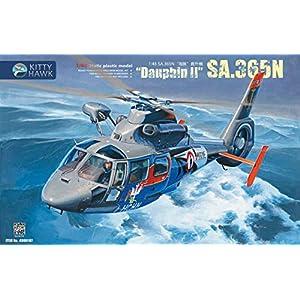 Kitty Hawk KH80107 Sa.365N Dauphin II Helicopter $49.99