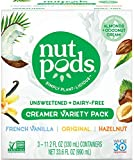 Gourmet Food : nutpods Variety 3-Pack, Unsweetened Dairy-Free Creamer, Whole30, Paleo, Keto, Non-GMO & Vegan, for Coffee, Tea & Cooking, made from almond and coconut