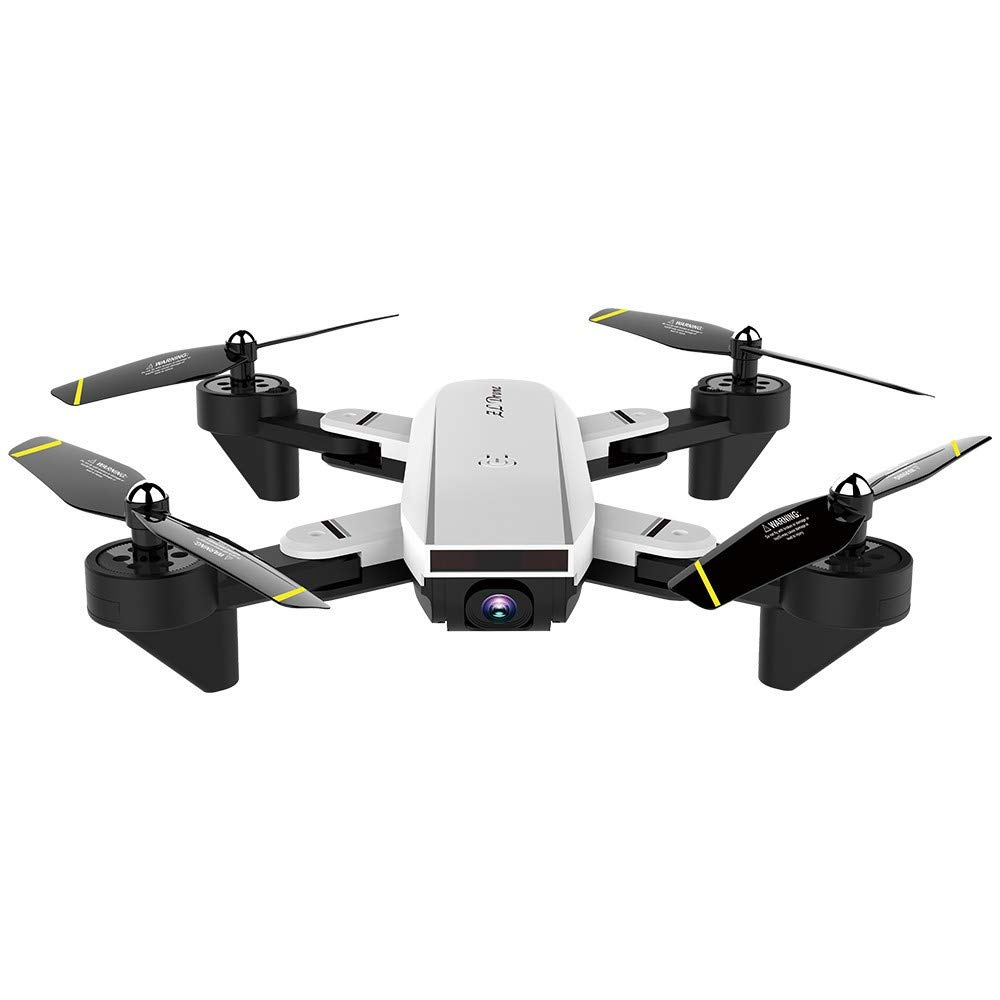 CYCTECH 2.4Ghz 4CH Wide-Angle WiFi 720P Optical Flow Dual Camera RC Quadcopter Drone Hover, Attitude Hold, APP Control, Real-time Transmission, Trajectory Flight, 3D Rollover Stunt by CYCTECH