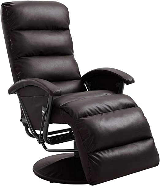 Tidyard Sillón reclinable para TV Silla Oficina Masaje ...