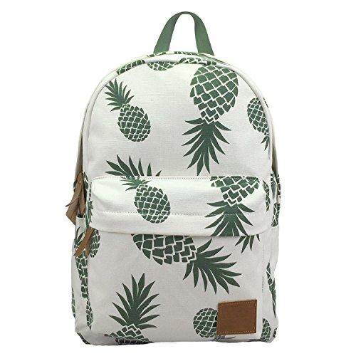 Backpacks Pineapple Women Backpack Cactus Daypack Lightweight Canvas University...
