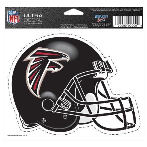 Wincraft Atlanta Falcons 5''x6'' Color Ultra Decal