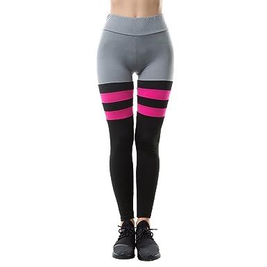 Sport Couleurs Legging Moulant Avec De Pants Longues Pantalon Femme HEYDWI29