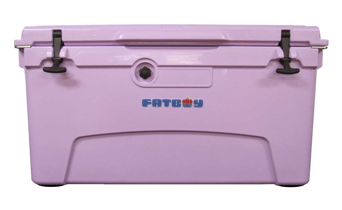 Fatboy 75QT Rotomolded Chest Ice Box Cooler Lavender (Purple) by Fatboy