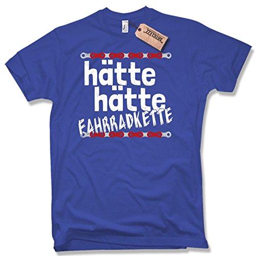 HÄTTE HÄTTE FAHRRADKETTE T-Shirt, Funshirt, verschiedene Farben, Gr. S - XXL