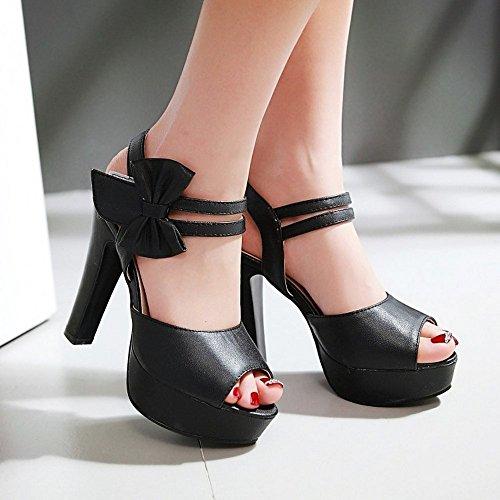 LI Haut BAJIAN Bas Sandales femme haute Heelswomen Chaussures Tongs talons Sandales Chaussures été pour AS11dFX