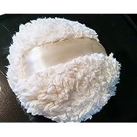 Fluffy Fleece Powder Puff for Dusting Powder 4 1/2 Inch Diameter