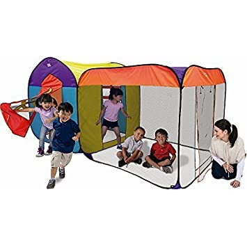 Luxury Townhouse Giant Play Tent by PlayHut  sc 1 st  Amazon.com & Amazon.com: Luxury Townhouse Giant Play Tent by PlayHut: Toys u0026 Games
