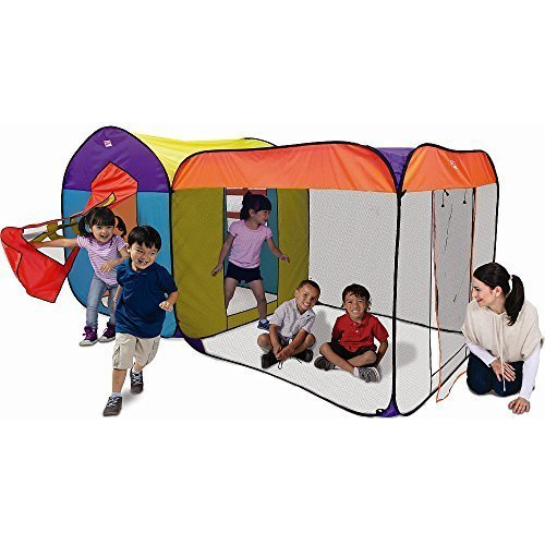 Playhut Plh-47031-DT-2T Luxury Townhouse Giant Play Tent, Mu