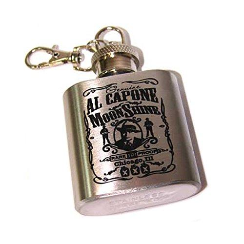 日本製 Al Capone B073DHL48K 1 Flask Keychain – 2 1 2/ 2