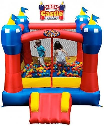 Amazon.com: Gorila inflable Blast Zone Magic Castle: Toys ...