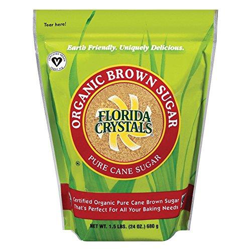 Florida Crystals Sugar Brown Organic, 24 oz