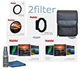 Haida NanoPro 100-Pro 100mm Long Exposure CPL Filter Kit, Pro-100 Filter Holder, Pro CPL, 100mm Nanopro ND 1.8 and ND 3.0, 77mm Pro Series Adapter Ring, 6-Filter Pouch and cleaning kit!