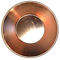 copper gold pan