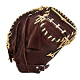 Mizuno Franchise GXC90B1 33.5' Baseball Catchers Mitt (Right-Handed Throw)
