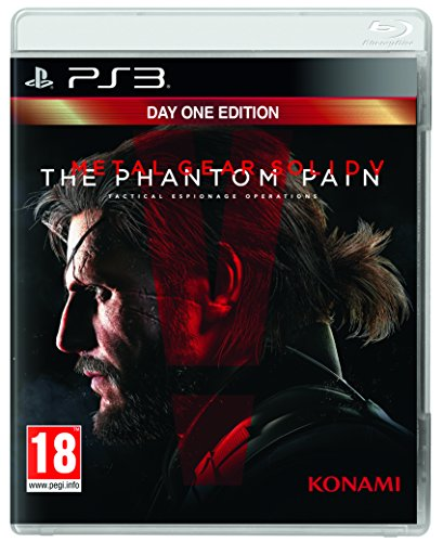 Metal Gear Solid V (5): The Phantom Pain - Day 1 Edition /ps3 (Metal Gear Solid V Ps3)