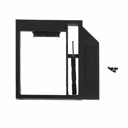 jiamins Caja Disco Duro plástico 2,5 Caja SSD HDD 9 mm para Laptop ...