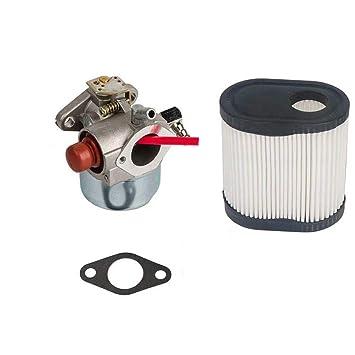 JUMBO FILTER Carburador para Toro 20016 20017 20018 Césped para Tecumseh 640271 640303 Mover Carburador con