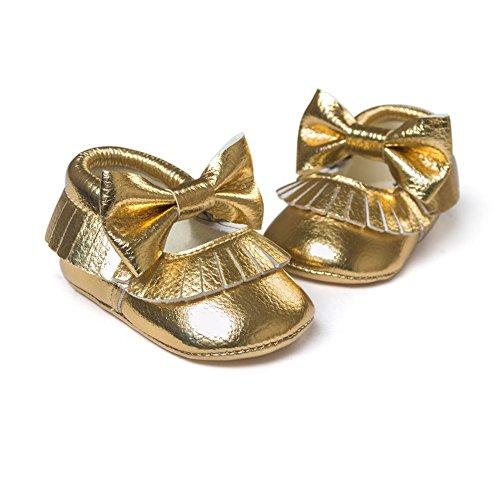 eshoo Muelles del niño sol greppia Zapatos de cuero del Niño Mocasín Prewalker 0–