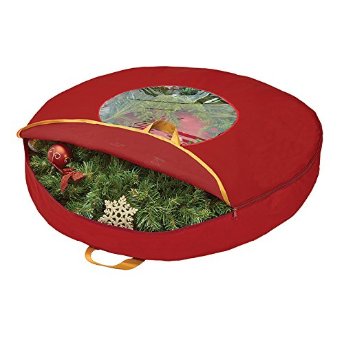 Amazon.com  Simplify 9 Foot Christmas Tree Storage Bag With Wheeled  Base 5dce091497c46